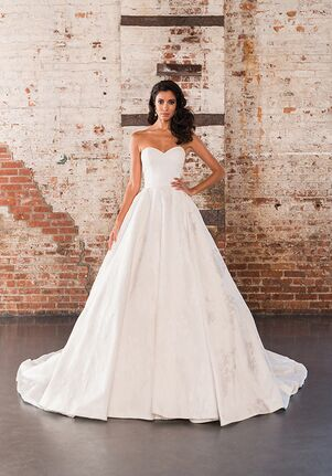 5f7e7d8b5 Justin Alexander Signature 9858 Ball Gown Wedding Dress