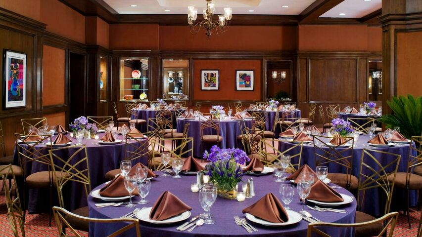 Hilton Dallas Park Cities Hotel Tx Wedding Reception
