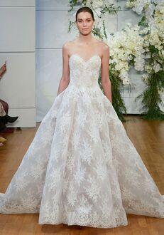 Monique Lhuillier Alexandra Ball Gown Wedding Dress