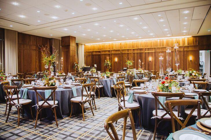 Mid-Century Modern Ballroom Reception at Kimpton Hotel Born in Denver, Colorado