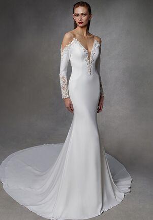 Badgley Mischka Bride Diane Mermaid Wedding Dress