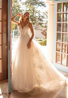 Moonlight Collection J6800 Ball Gown Wedding Dress