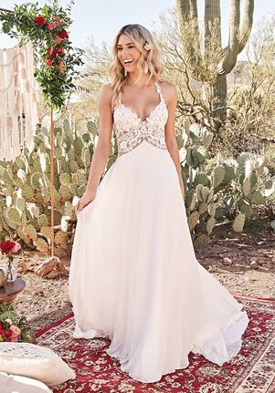 Lillian West 66035 A-Line Wedding Dress