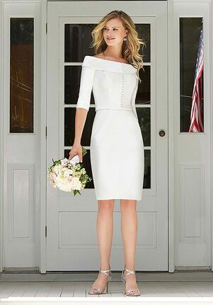 The Other White Dress Blanche Sheath Wedding Dress