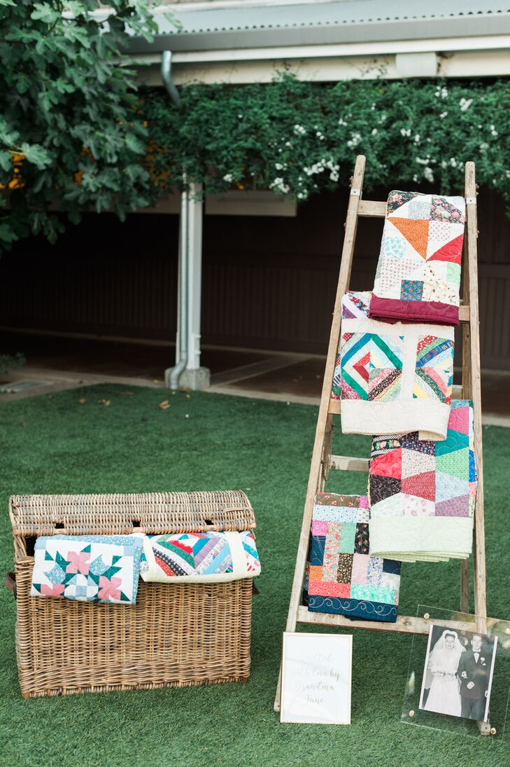 Handmade Quilt Display