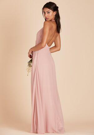 Birdy Grey Moni Convertible Dress in Rose Quartz Halter Bridesmaid Dress