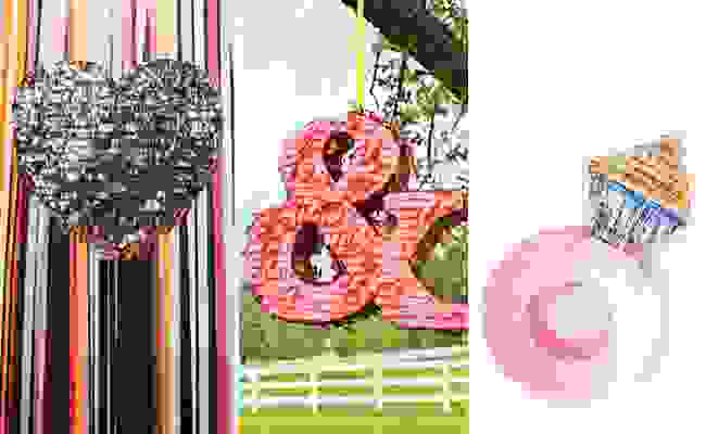 Wedding Piñatas from The Knot Blog