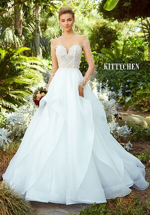 KITTYCHEN BIBI, H1933 Ball Gown Wedding Dress