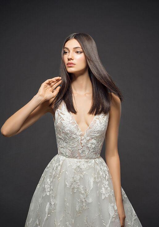 Lazaro 3812 A-Line Wedding Dress