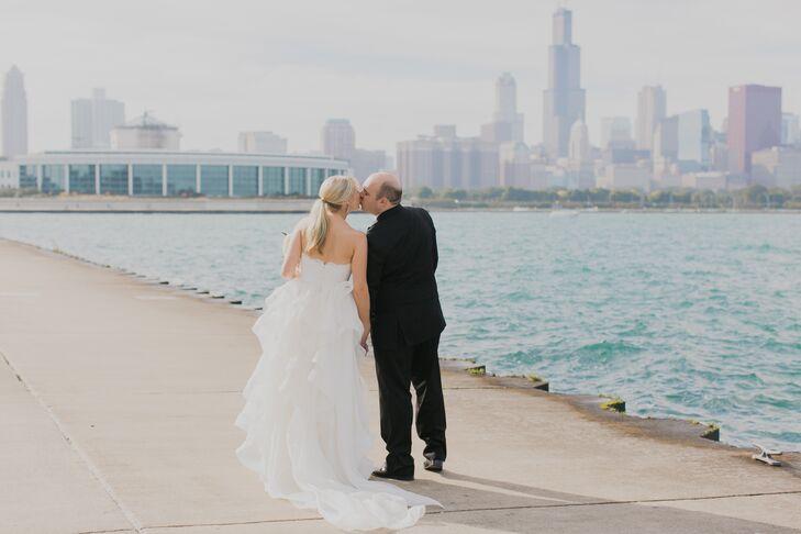 Jessica Romaniuk (29, a Digital Media Supervisor) and Adam Weber (35, an Attorney) held their wedding at the historic Renaissance Blackstone Chicago H