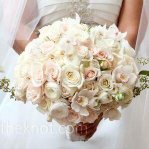 All-White Wedding Bouquet