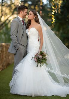 Essense of Australia D2920 Mermaid Wedding Dress