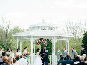 Gazebo Ceremony Decor