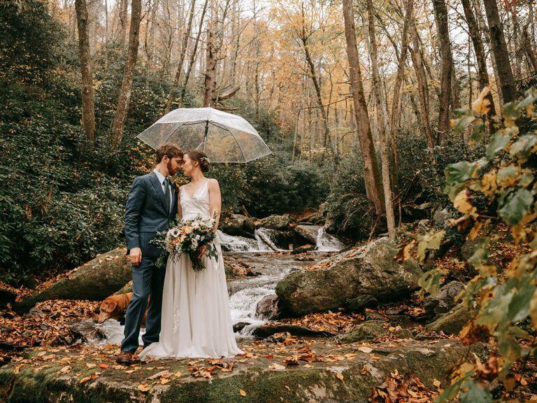 Asheville wedding venue in Gerton, North Carolina.