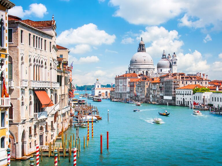 Venice Italy Romantic Honeymoon