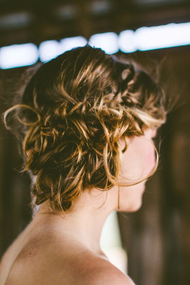 Whimsical Braided Wedding Updo