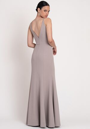 Jenny Yoo Collection (Maids) Taryn V-Neck Bridesmaid Dress