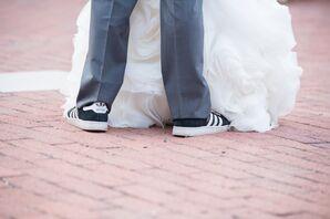 Groom's Reception Sneakers
