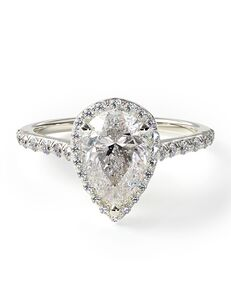 James Allen Unique Heart, Pear Cut Engagement Ring