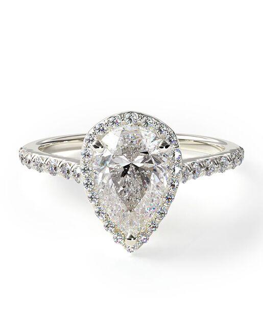 James Allen Unique Heart, Pear Cut Engagement Ring