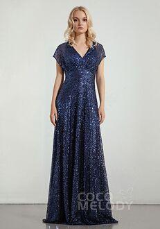 CocoMelody Bridesmaid Dresses RB0342 V-Neck Bridesmaid Dress