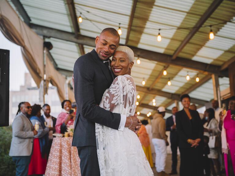 Janell Hickman-Kirby wedding