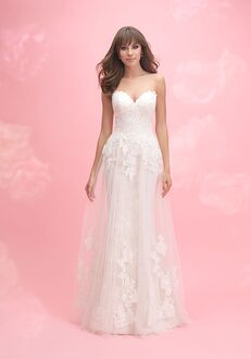 Allure Romance 3057 Sheath Wedding Dress