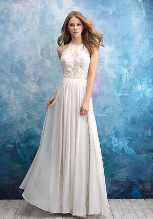Allure Bridals 9573 A-Line Wedding Dress