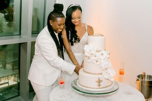 Cake Cutting at The Harvey B. Gantt Center for African-American Arts & Culture in Charlotte, North Carolina