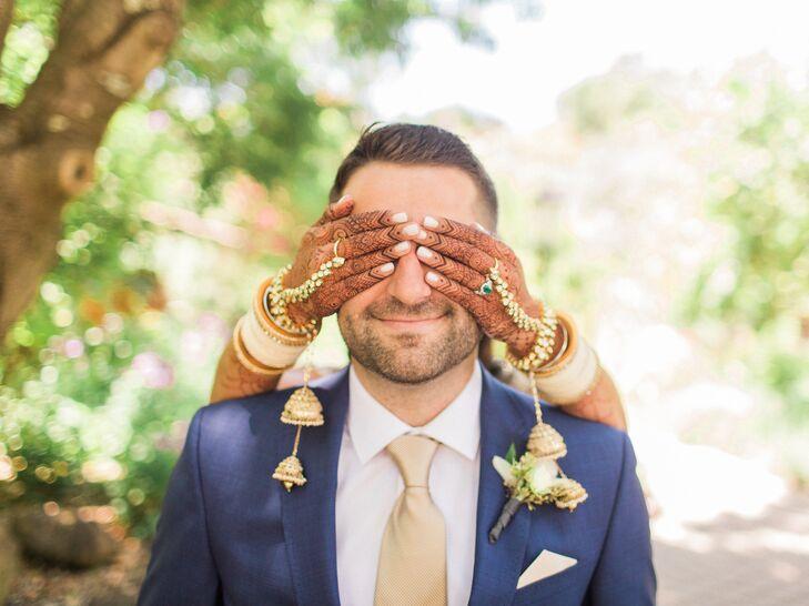 Indian-Jewish Wedding First Look