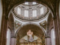 Catholic mass wedding ceremony in Mexico