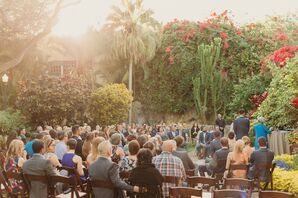 Tropical Ceremony at Sunken Gardens in St. Petersburg, Florida