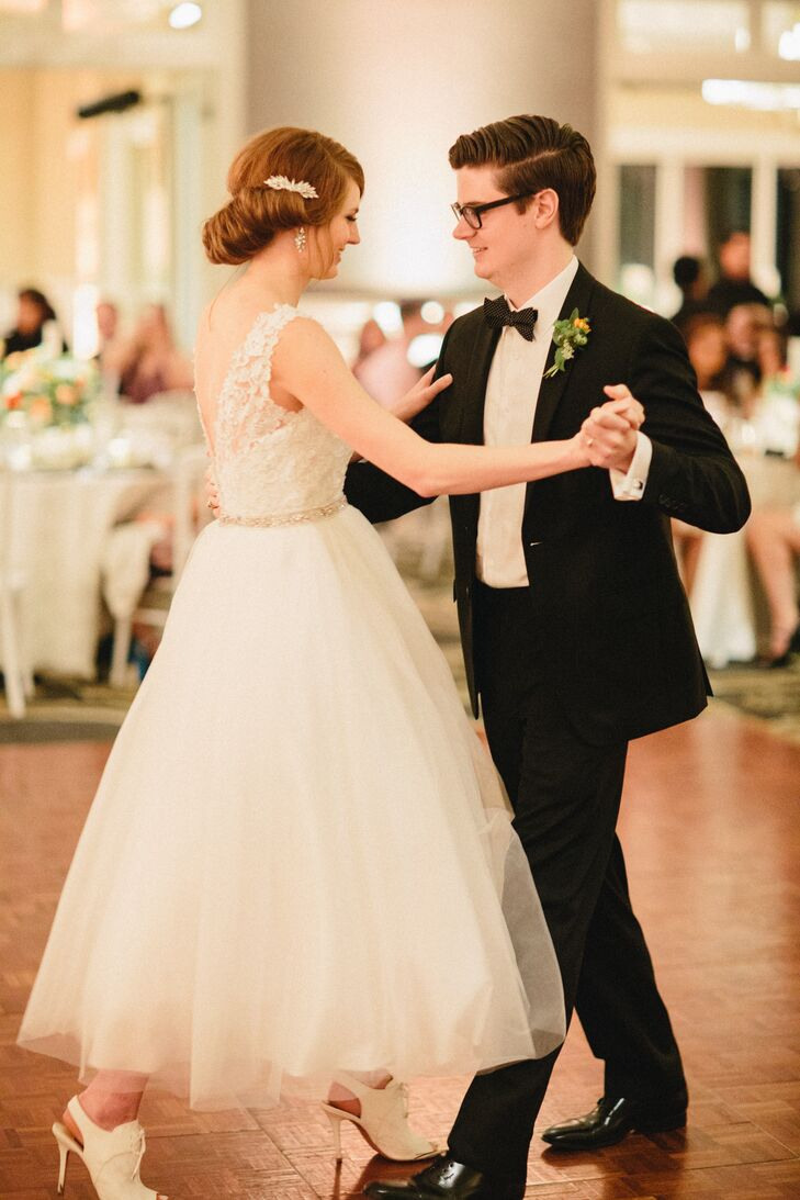 First Dance in Ballroom at Austin Country Club