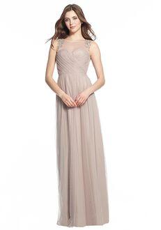 Monique Lhuillier Bridesmaids 450504 Illusion Bridesmaid Dress