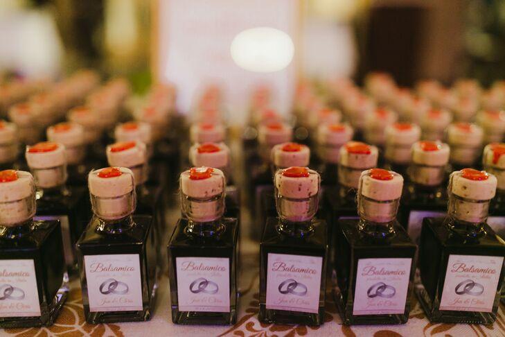 Artisanal Bottles of Balsamic Vinegar