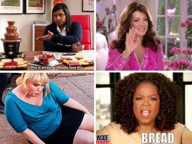 12 types of bridesmaids in GIFs Mindy Project, Real Housewives of Beverly Hills, Pitch Perfect, Oprah
