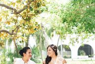 For their Santa Barbara, California, wedding, Andrea Ortiz (29 and a compliance associate) and Mariko Sola (33 and a senior director of global sourcin