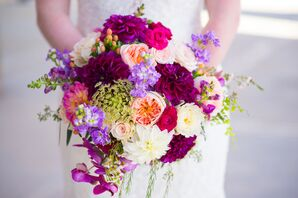 Jewel-Tone Vibrant Fall-Inspired Bouquet
