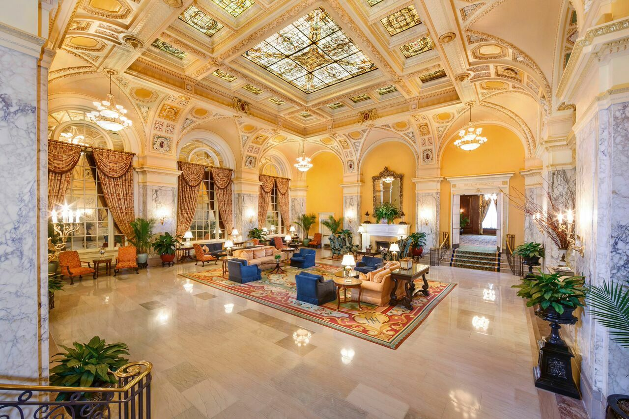 The hermitage hotel reception venues nashville tn for Hotel suites nashville tn 2 bedroom
