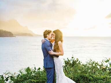 Karena Dawn and Bobby Gold on island of Kauai