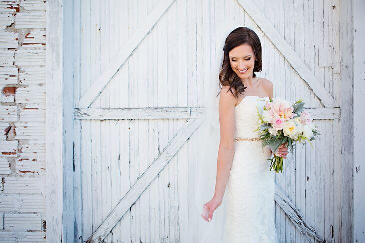 Lace San Patrick Wedding Dress