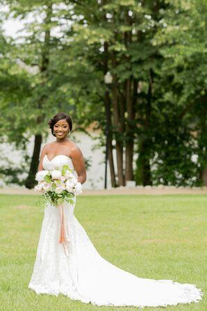 Bridal Portraits at Stone River in Columbia, South Carolina