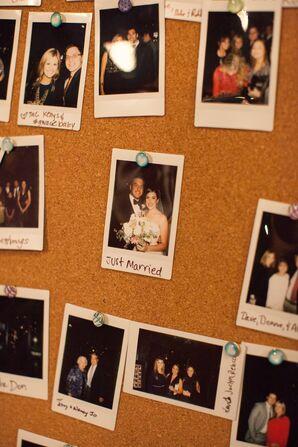 Hanging Polaroid Guestbook Alternative