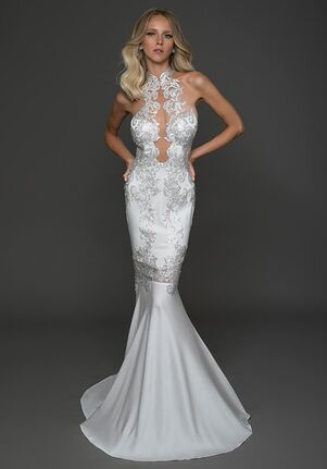 Pnina Tornai for Kleinfeld 4617 Sheath Wedding Dress