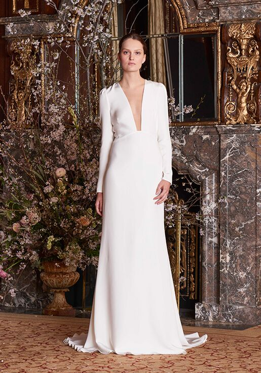 d579df4faf818 Monique Lhuillier Caroline Wedding Dress - The Knot