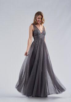 Belsoie Bridesmaids by Jasmine L214063 V-Neck Bridesmaid Dress