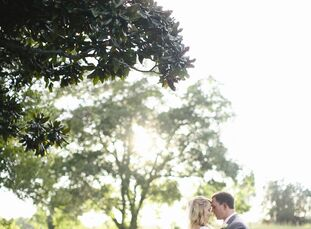 Erin and Brandon wanted a natural, romantic wedding with a hint of Southern charm. Elegant details and a focus on family made their plantation affair