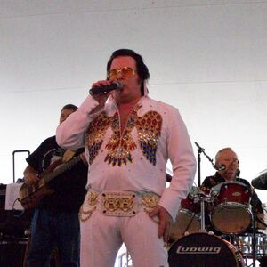Springfield, IL Elvis Impersonator   Elvis Himselvis W Or W/o Dtcb Band