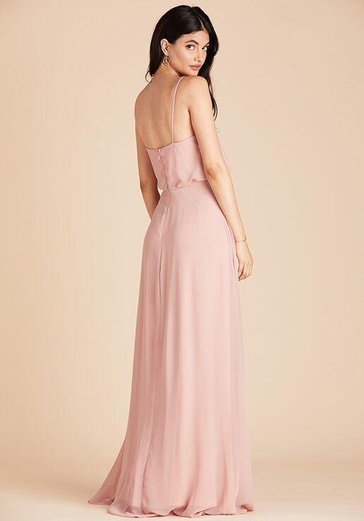 Birdy Grey Gwennie Bridesmaid Dress in Rose Quartz V-Neck Bridesmaid Dress