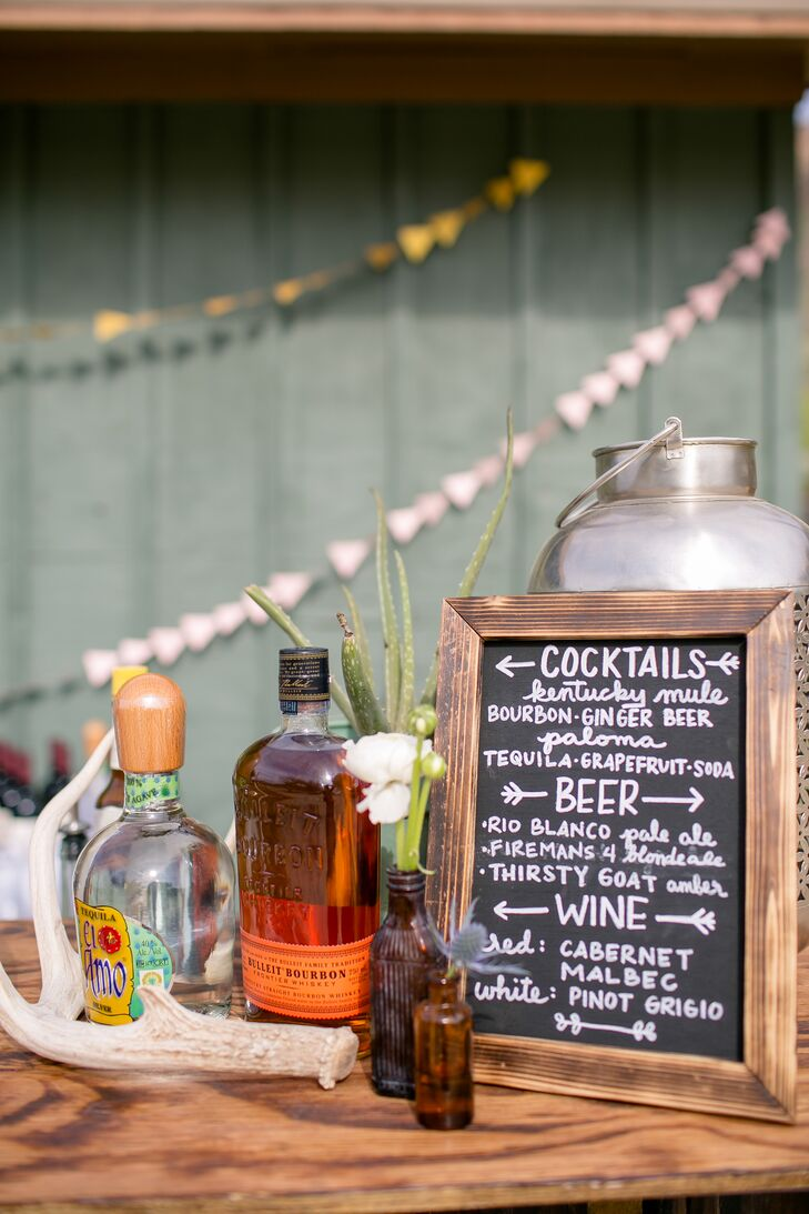 Texas-Inspired Cocktail Hour Menu